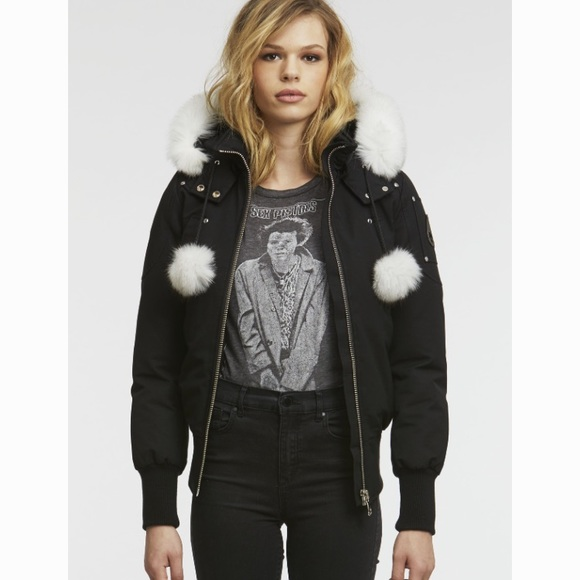4924ba76d Debbie Bomber Jacket by Moose Knucles NWT